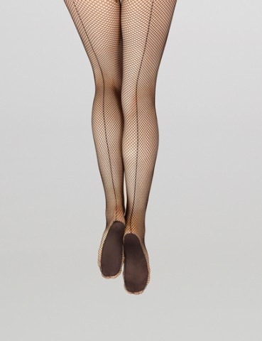 Capezio 3400 Professional Fishnet Tight W/Seams